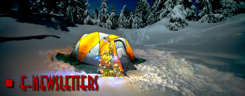 Snow Tent with Xmas Tree (Newsletter image)